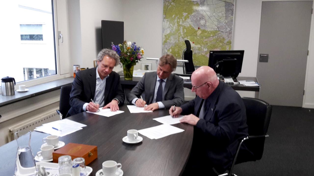 Ondertekening samenwerkingsovereenkomsten burgerhulpverlening Soest